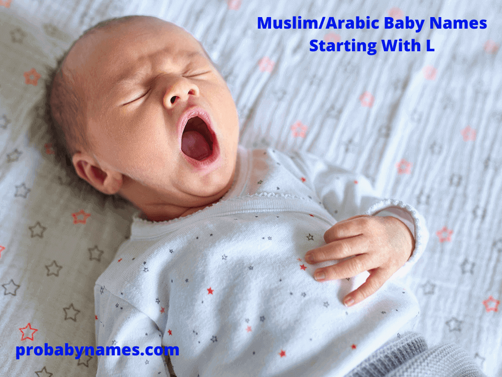 Muslim/Arabic Baby Names Starting With L