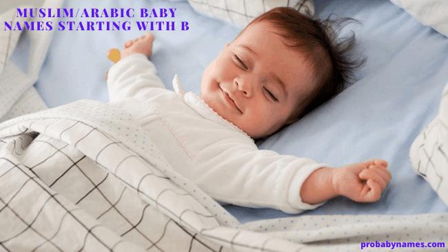 Muslim/Arabic Baby Names Starting With B