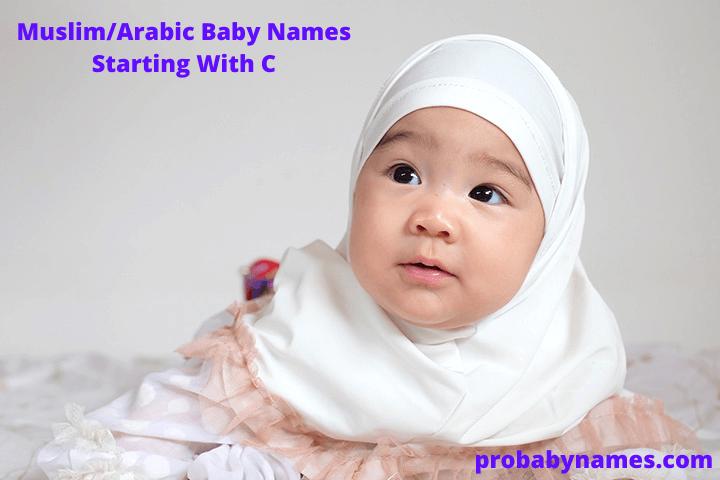 Muslim/Arabic Baby Names Starting With C