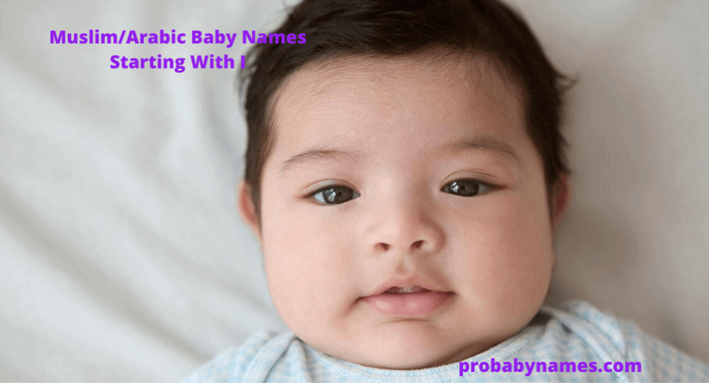 Muslim/Arabic Baby Names Starting With I