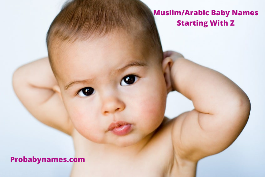 Muslim/Arabic Baby Names Starting With Z
